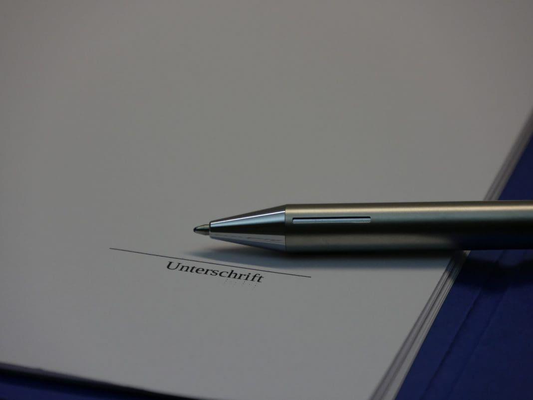 Unterschrift - Signatur