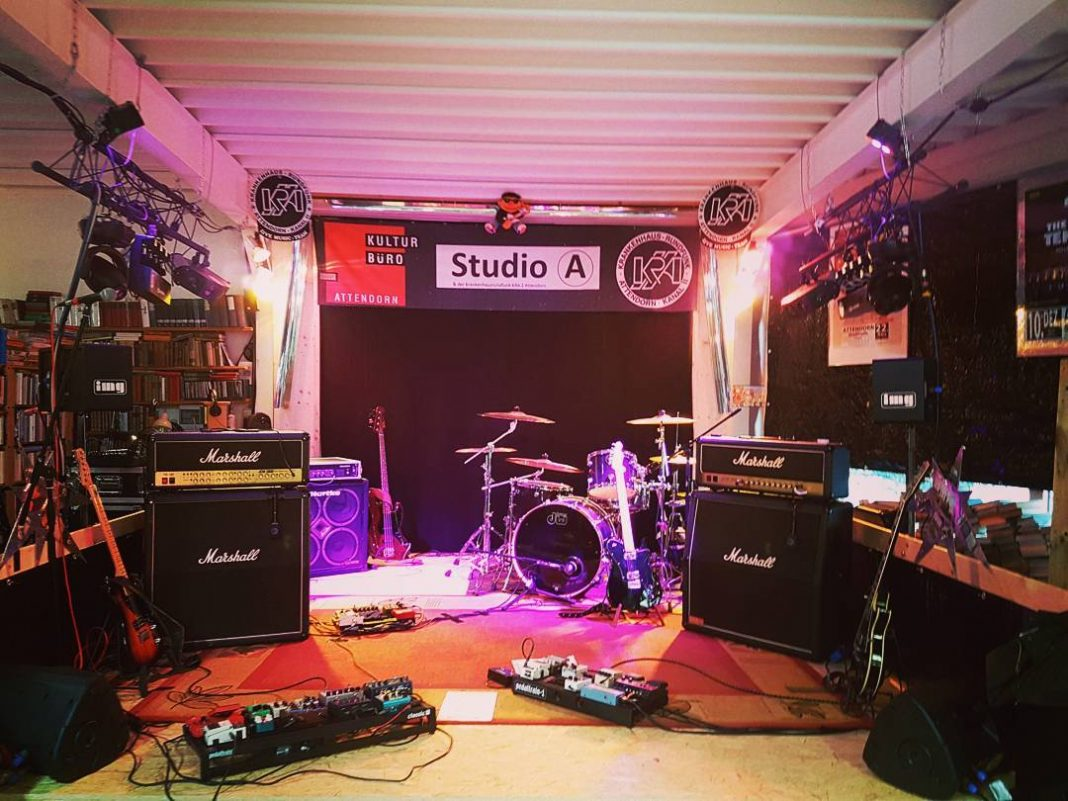 Bühne im Studio A
